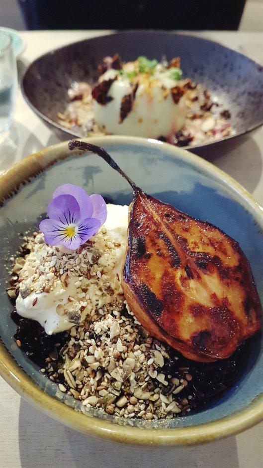 Black rice porridge