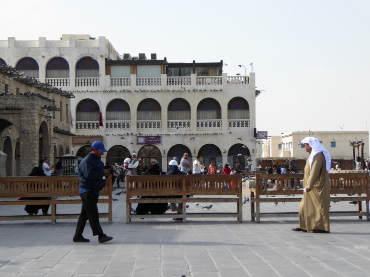 traditional markets Doha Qatar