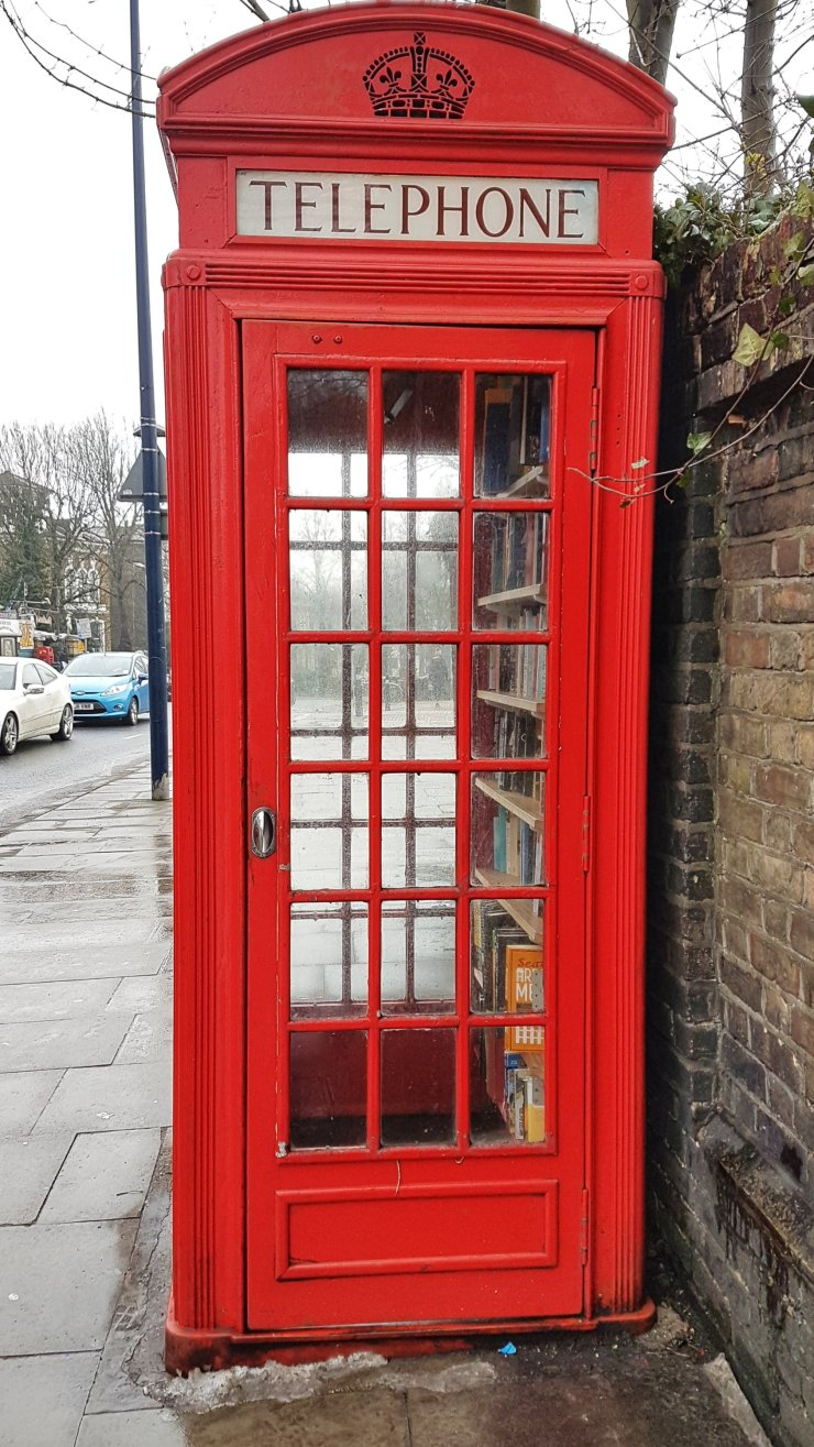 phone box library Lewisham