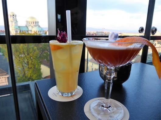 cocktails Sofia sense hotel