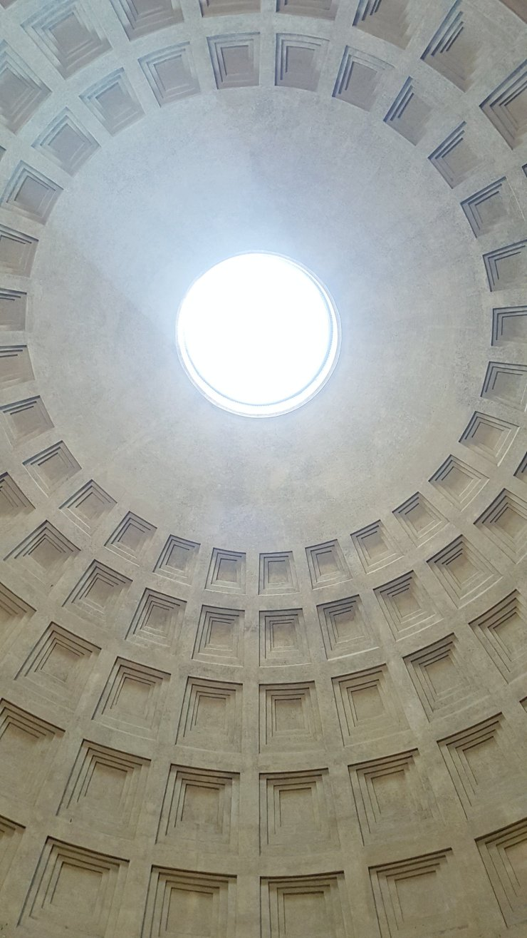 Pantheon ceiling Rome