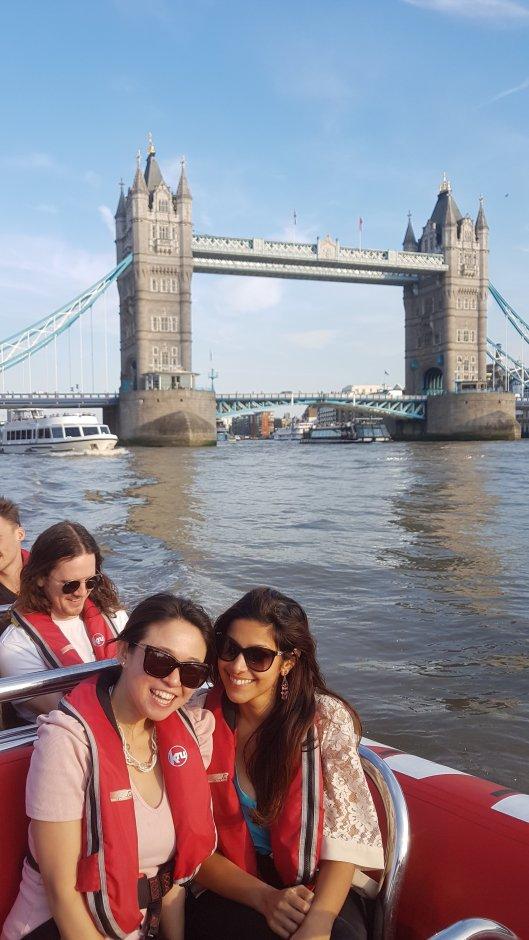 Tower Bridge boat ride