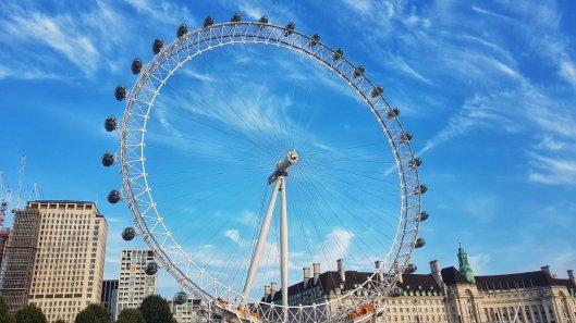 London Eye boat ride