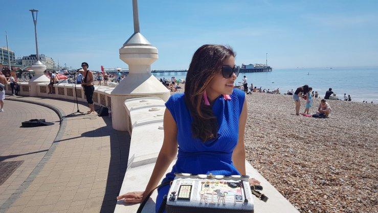 Brighton in June