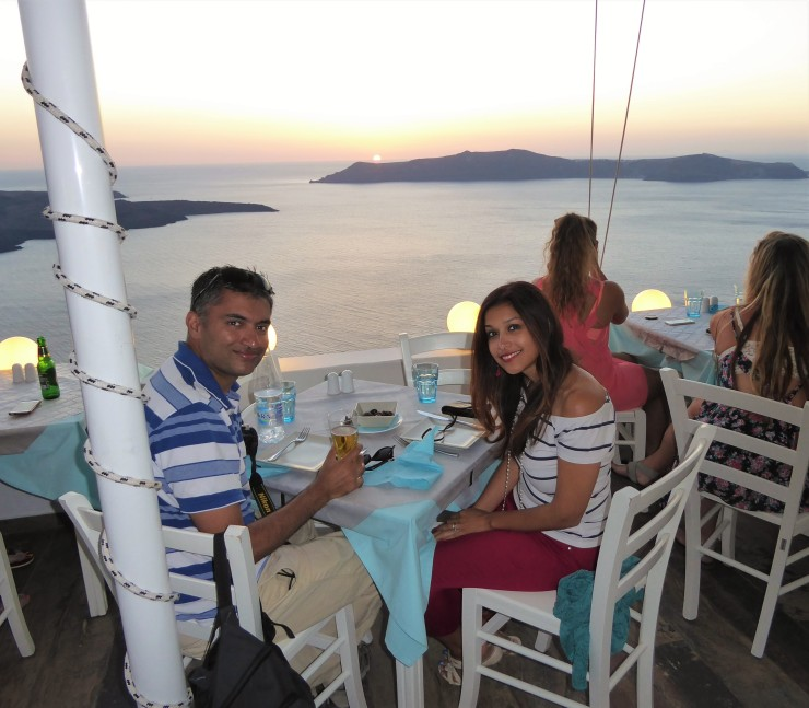 Santorini for couples