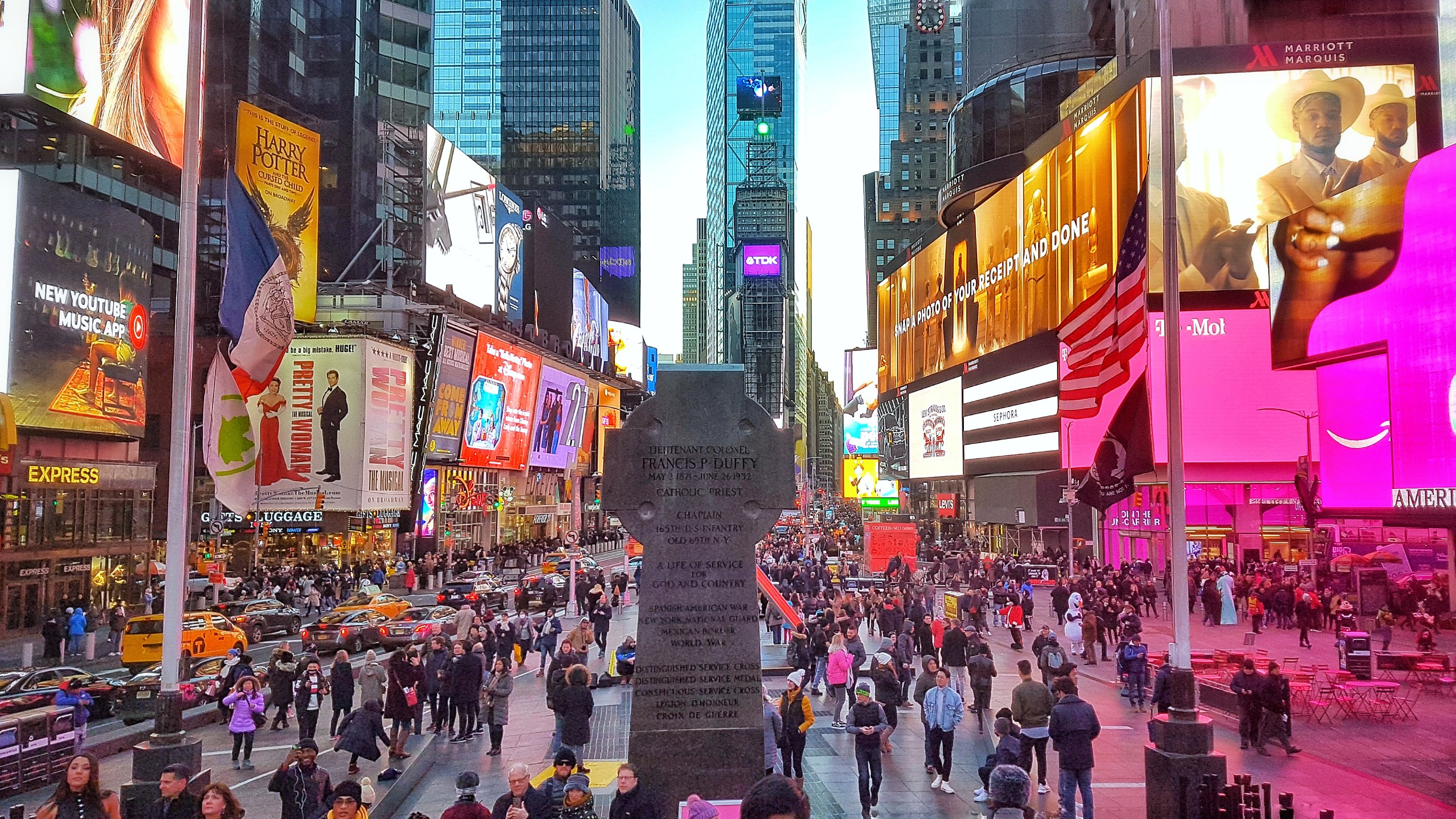 Times Square NYC February