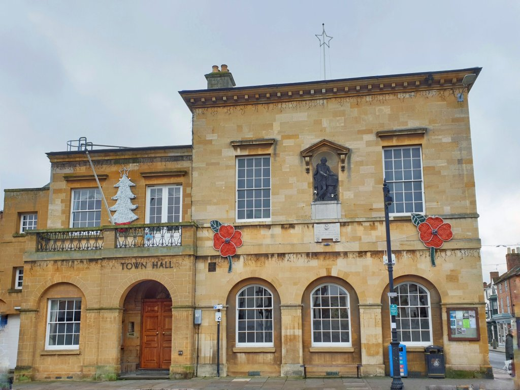 Old town hall Stratford