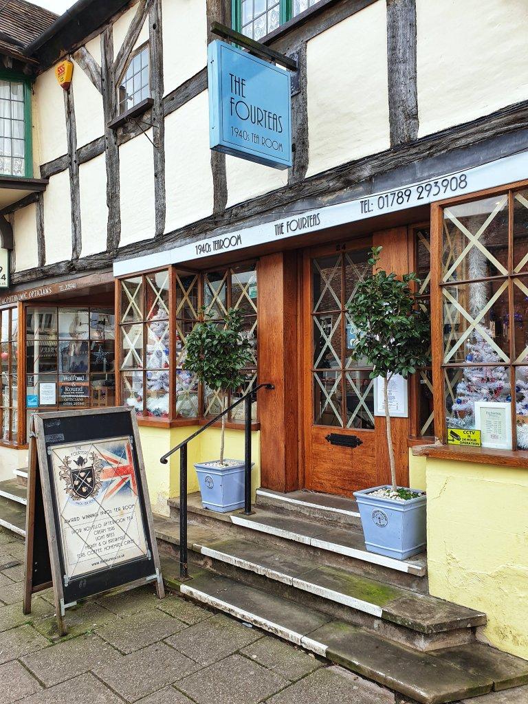 Four Teas Stratford upon Avon